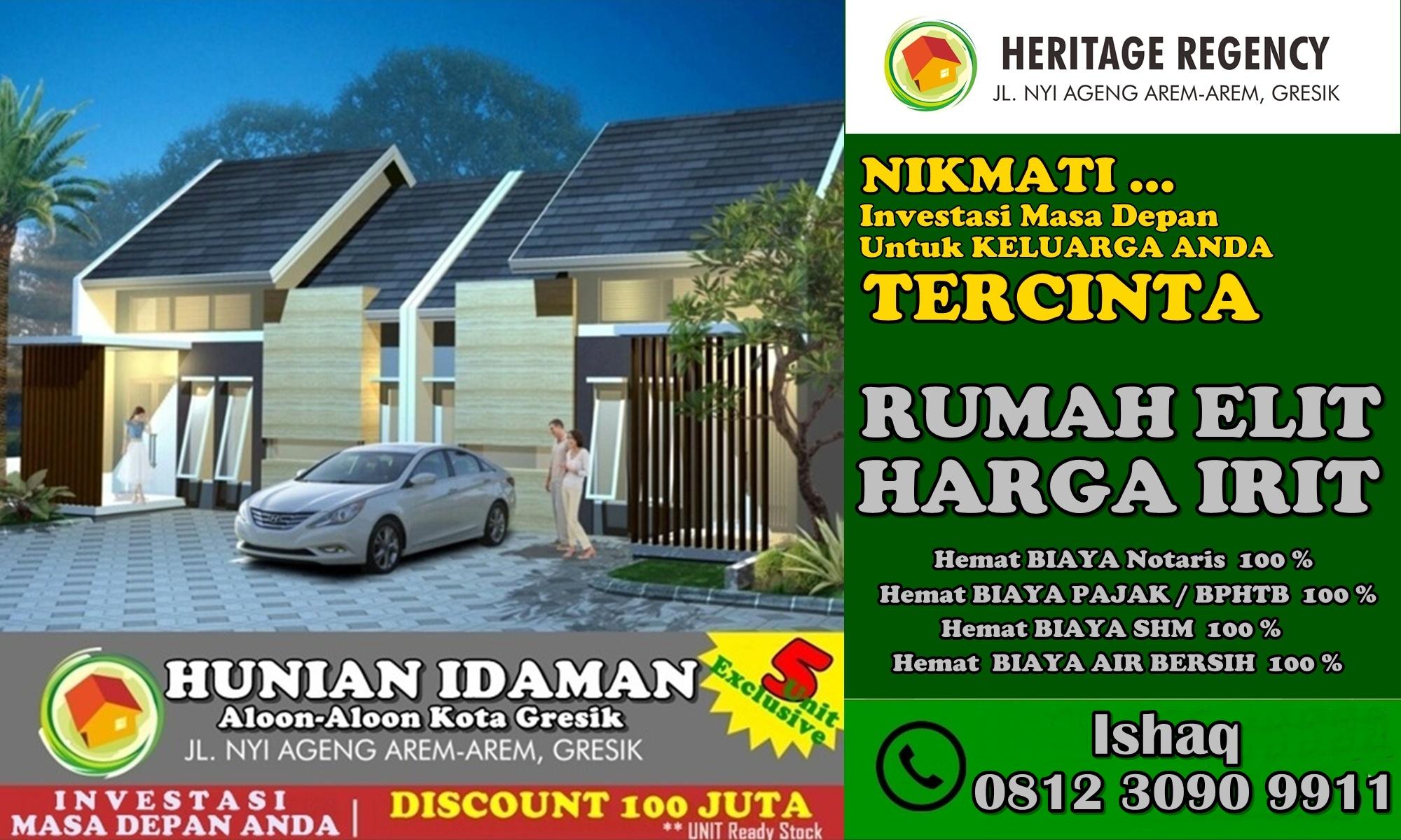 Olx Rumah Gresik Kota - 081230909911 - Heritage Regency