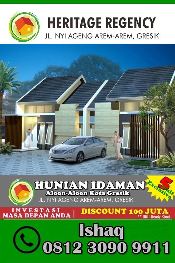 Rumah Gresik Kota - 081230909911 - Heritage Regency